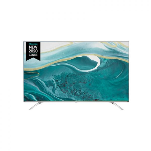 """HISENSE LEDN55U7WF 55"""" 4K SMART ULED; Smooth Motion; Full Array Local Dimming; 60Hz MEMC; Wide Colour Gamut; 700 nit Peak Brightness; Dolby Vision-Atmos; Bezelless Design; VIDAA Smart OS 4.0; Dual Band WiFi; Bluetooth; Remote Now; One Touch Access; HDR10+; Game Mode; Netflix, YouTube, Prime, Dstv Now, Showmax"""