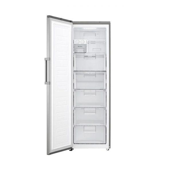 313L Larder Freezer, Inverter Linear Compressor, ThinQ, Platinum Silver
