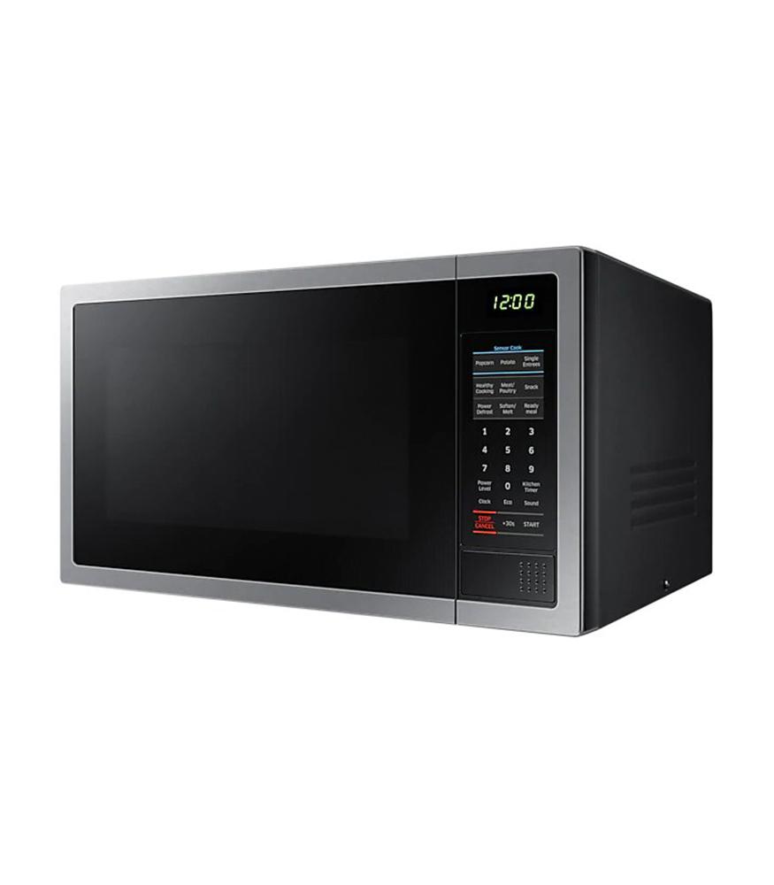 28L 1000 Watt Solo Microwave - Stainless Steel With Black Door