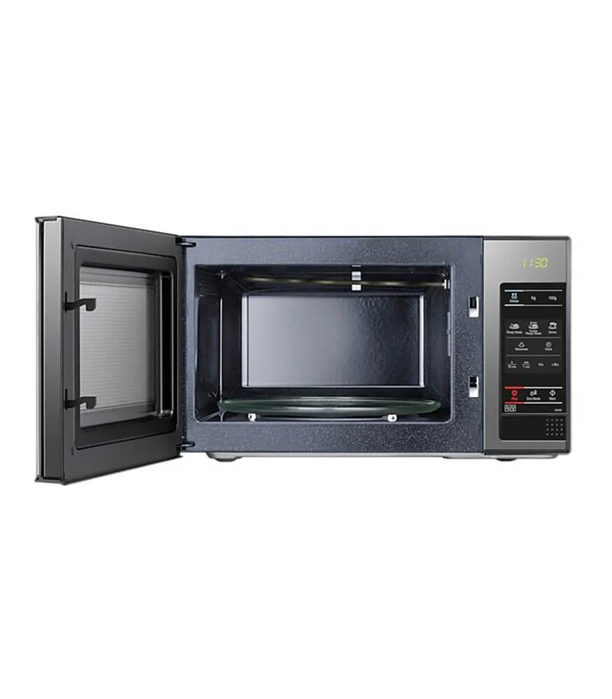 23L 800 Watt Solo Microwave - Black Frame With Mirror Door