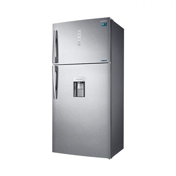 SAMSUNG 629L Frost Free Top Freezer Bottom Fridge Combination Fridge With Water Dispenser - Silver