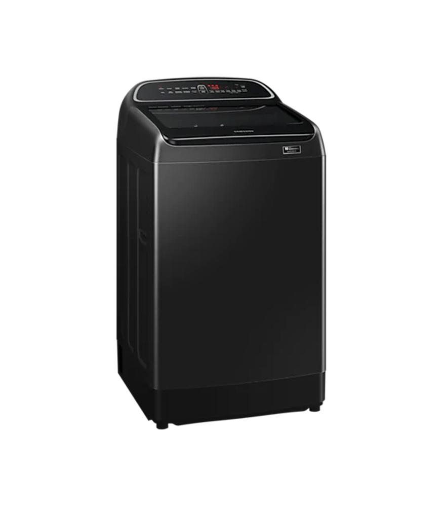 SAMSUNG 19KG Top Loader Washing Machine – Black Caviar