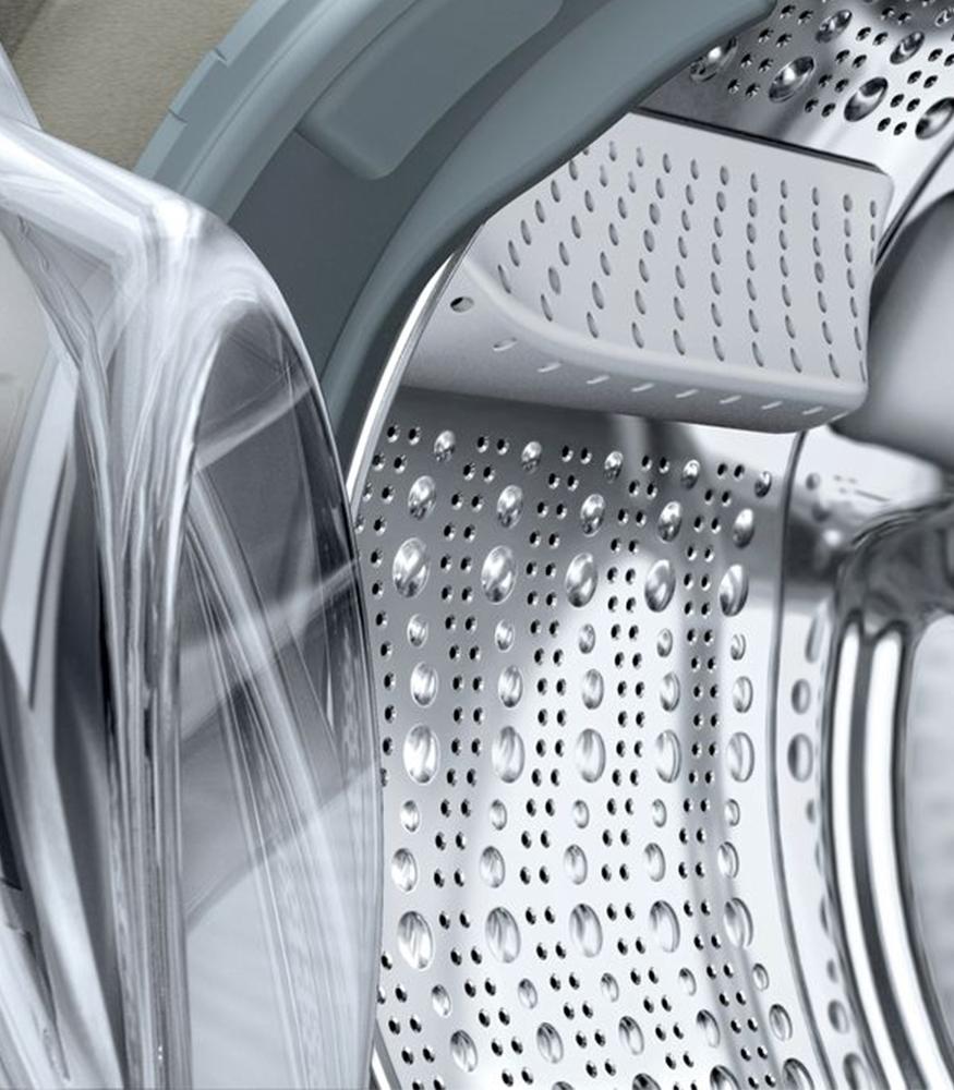 Frontloader Washing Machine 9 kg Silver