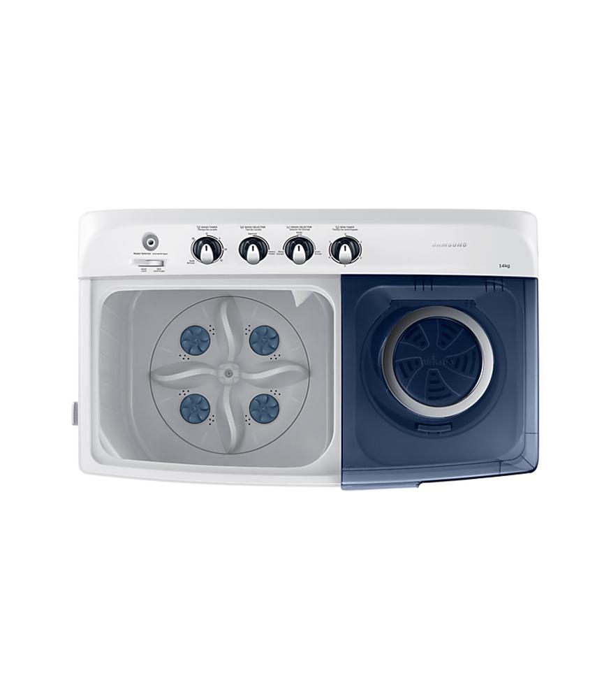 14Kg Twin Tub Washing Machine - Grey