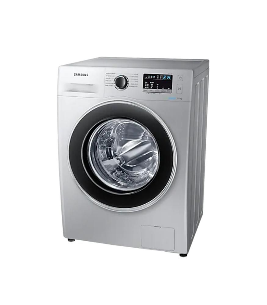 SAMSUNG 7Kg Front Loader Washing Machine - Silver