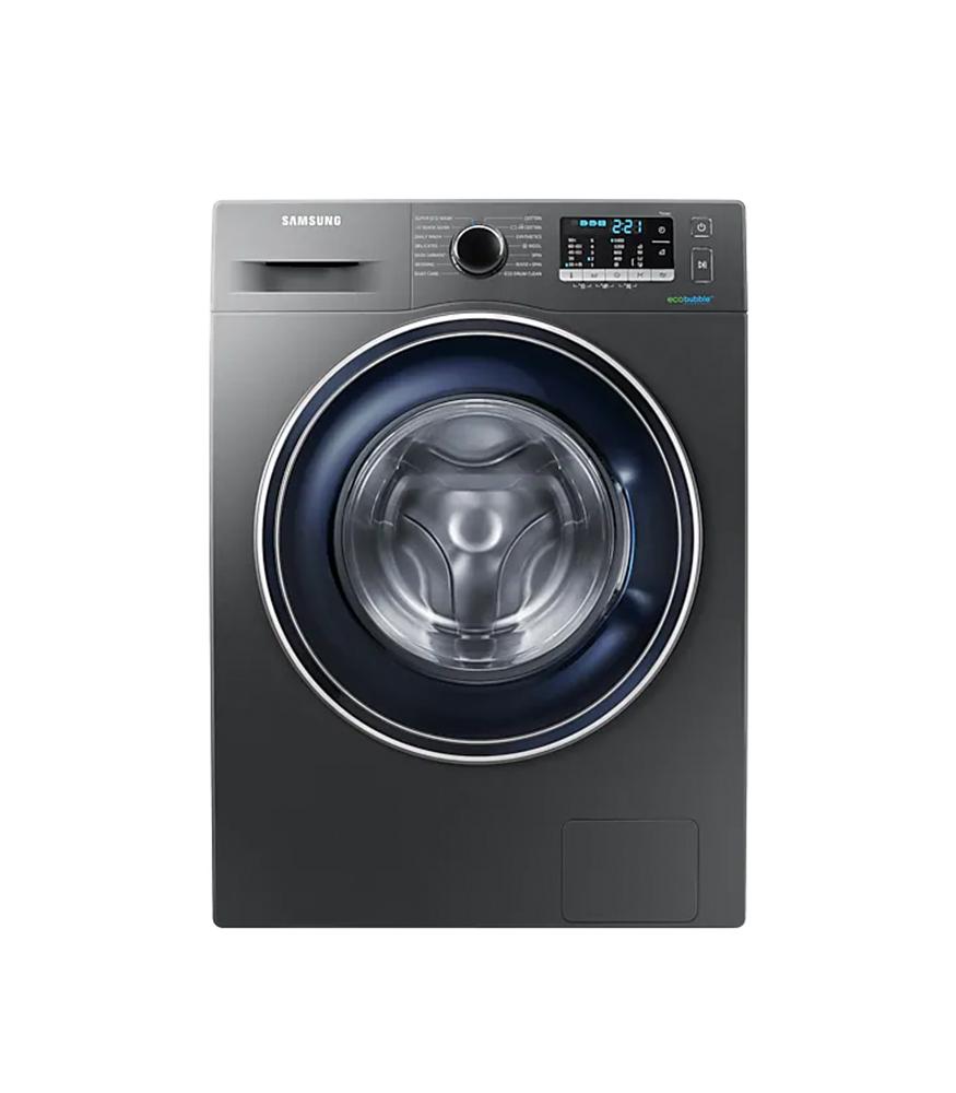 SAMSUNG 8Kg Front Loader Washing Machine - Inox Silver