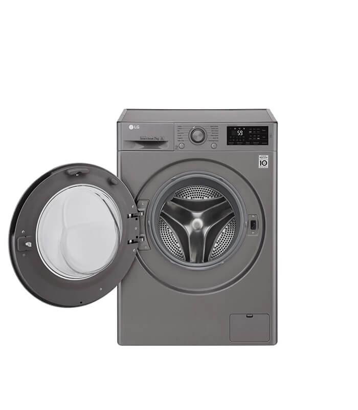 7kg Stone Silver Front Loader Washing Machine