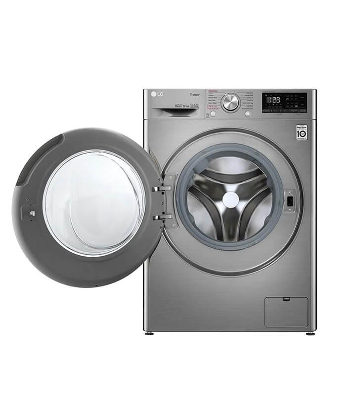 LG 10.5KG Wash 7kg Dry Silver Vivace - AI DD Washer Dryer Combo - F4V5RGP2T