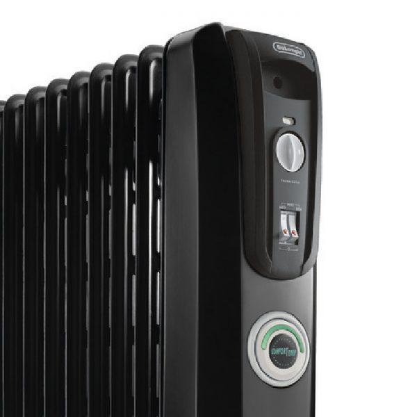 De'Longhi 7 Fin Oil Filled Radiator Heater – ComforTemp KH770715CB