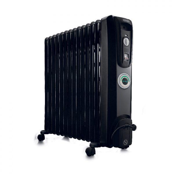 De'Longhi - 14 Fin Oil Filled Radiator Heater – ComforTemp - KH771430CB