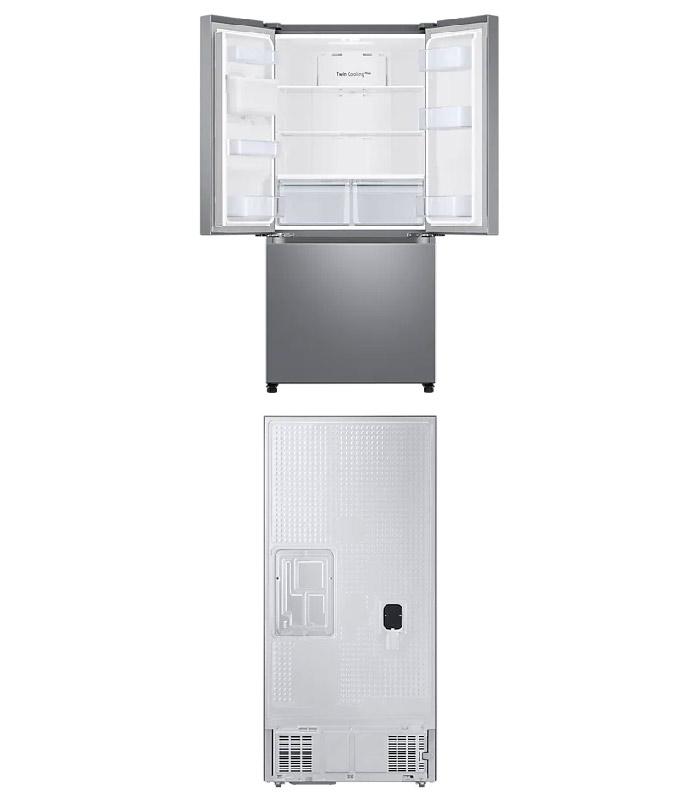 SAMSUNG - 470L Net Frost Free French Door Fridge- RF49A5202SL