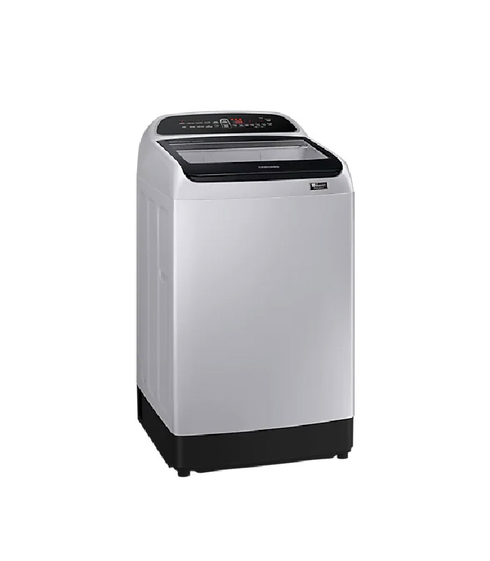 SAMSUNG - Top Loading Washer with Wobble Technology, DIT, Magic Dispenser - Grey - WA15T5260BY