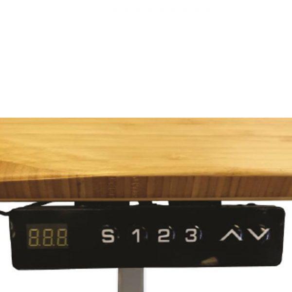 Jarvis 1520mm Height Adjustable Electric Standing Desk (Frame & Top) - Beige
