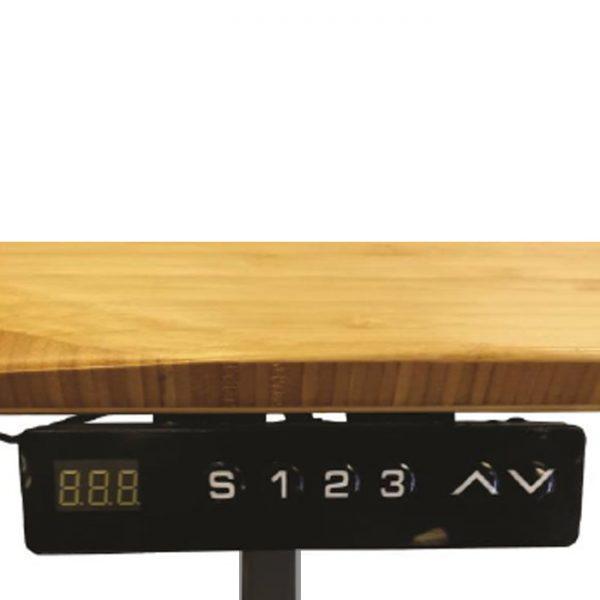 Uplift - 1520mm Height Adjustable Electric Standing Desk (Frame & Top) - Black